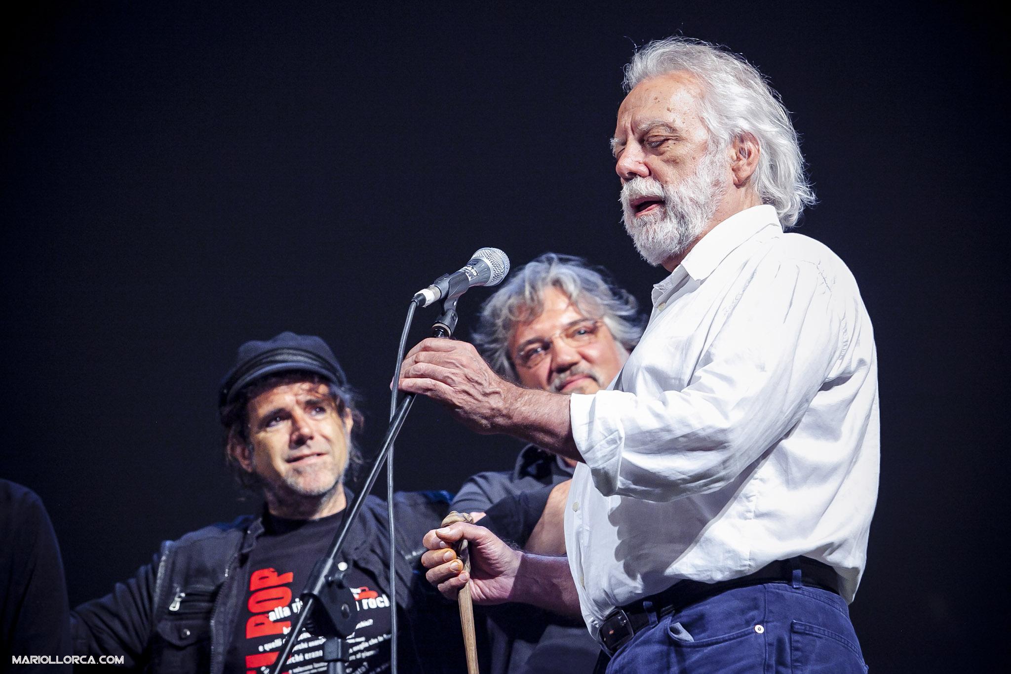 80. TETES DE BOIS E SERGIO STAINO.FOTO MARIOLLORCA.COM
